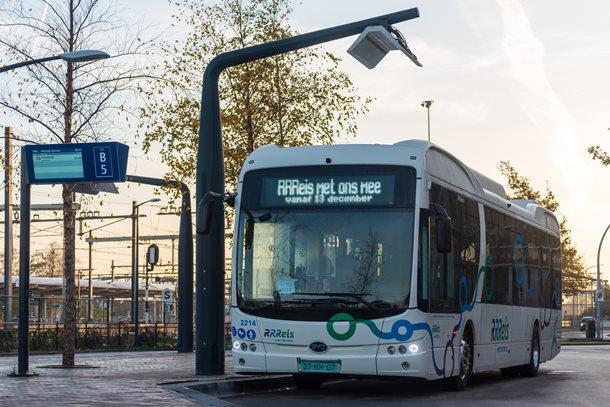 Busstation Zwolle klaar voor komst elektrische bussen